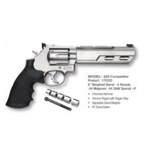 629 Competitor Revolver Smith  Wesson